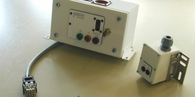 Inclinometro: trasmettitore e ricevitore/Inclinometer: transmitter and receiver